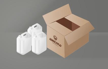 caja 3x10 l industria quimica