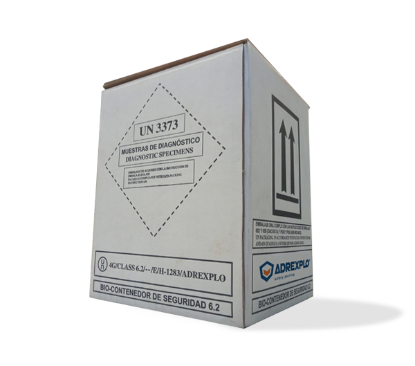 Caja Biot-1, clase 6.2